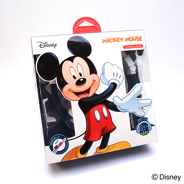 ディズニーキャラクター ヘッドホン ミッキーマウス 子供用